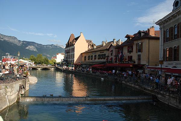 Französisch in den Alpen